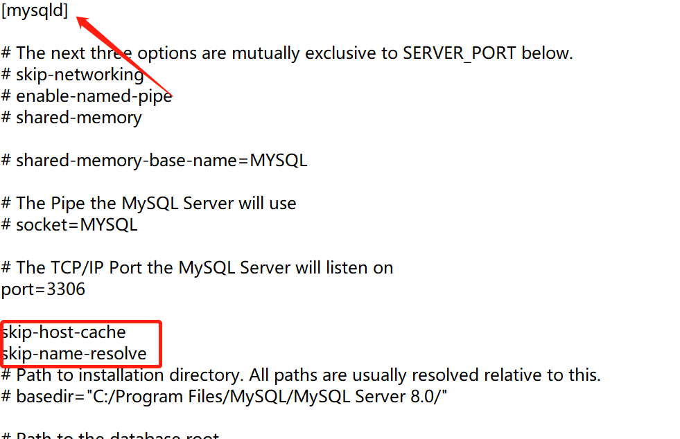 "解决mysql""Host name 'XXXIP' could not be resolved: 不知道这样的主机""的办法"